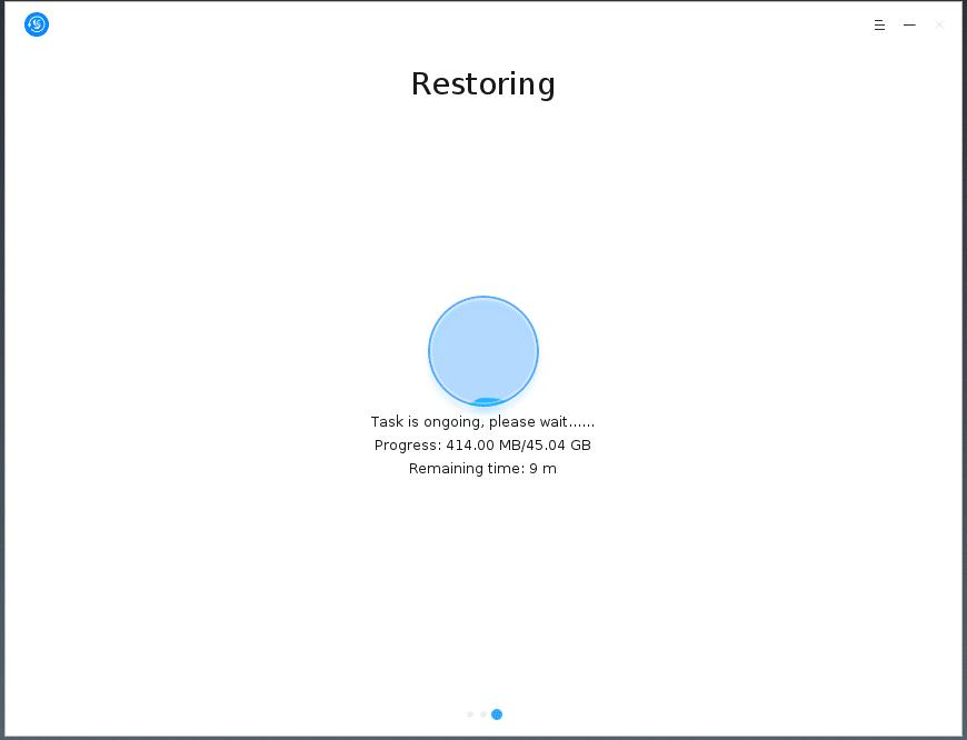 Restaurando