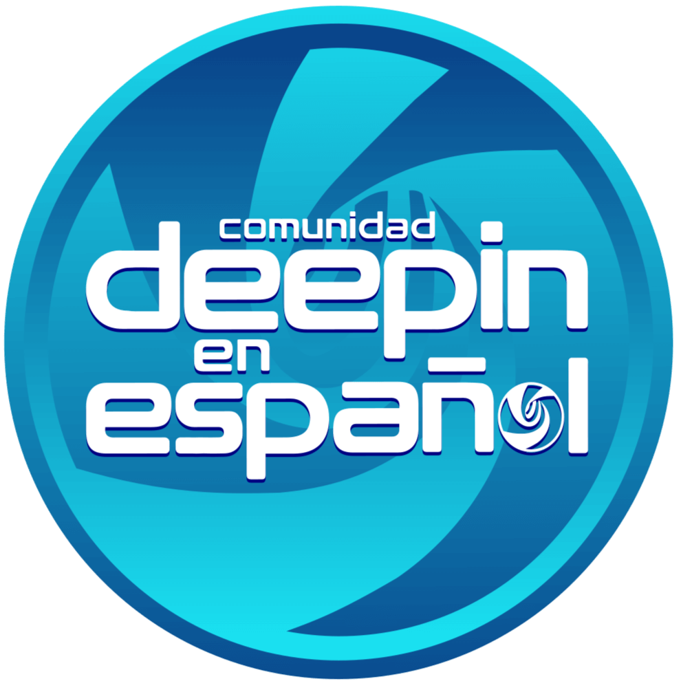 Logo Deepin en Español, original a 990px