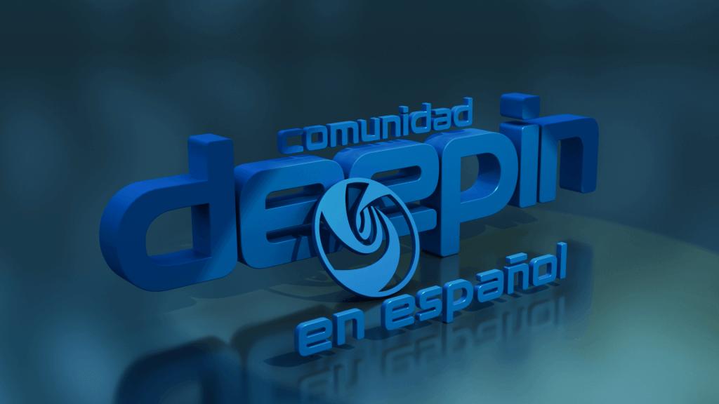 Fondo de pantalla de Deepin en Español.