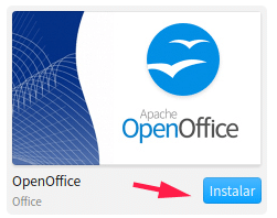 Instalar aplicación