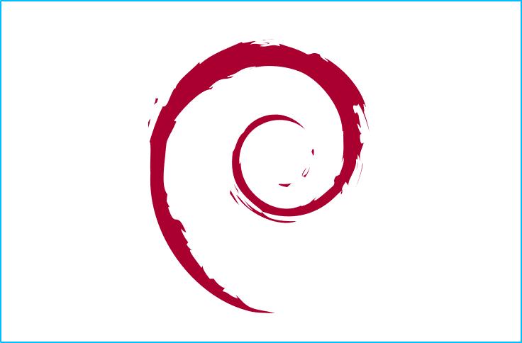 Logotipo de Debian.