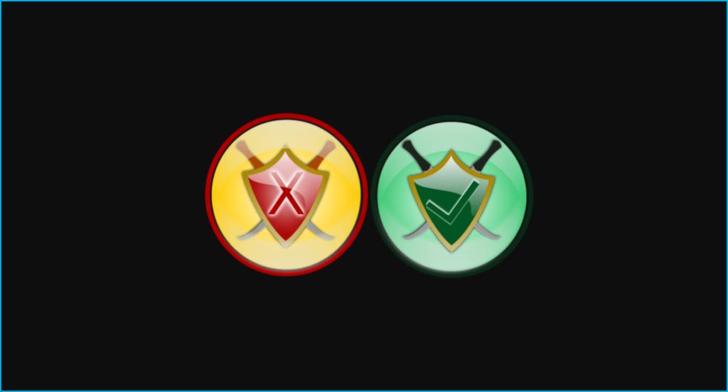 Iconos de seguridad