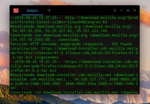 Instalación final de Firefox Latest