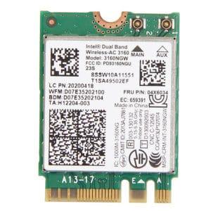 Intel 3160 WiFi