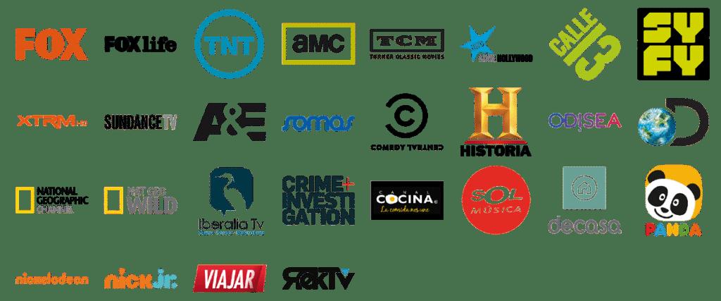 Canales de TV