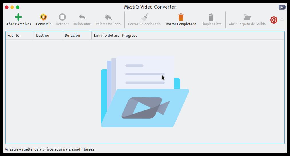 Captura de MystiQ Video Converter