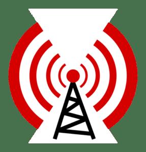 Ilustración de radiodifusión