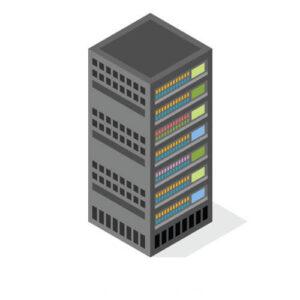 Ilustración de servidor