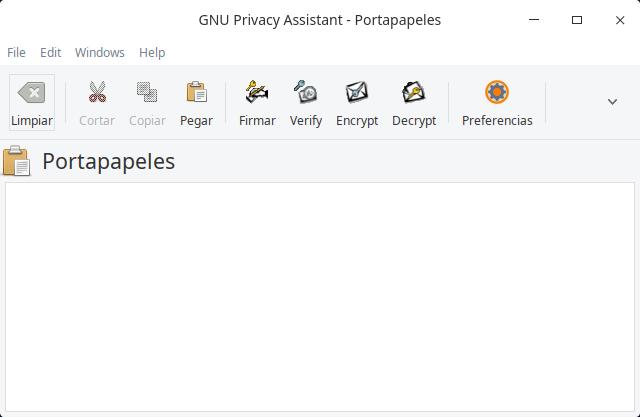 GNU Privacy Assistant