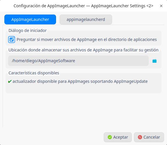 Appimage Launcher