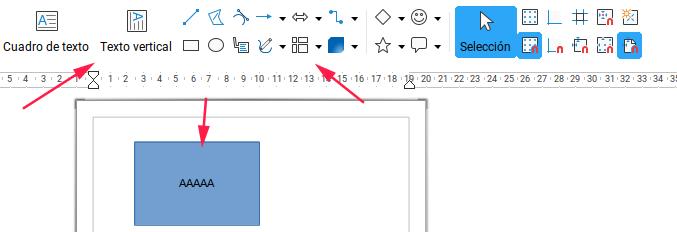 Añadir objetos en Draw